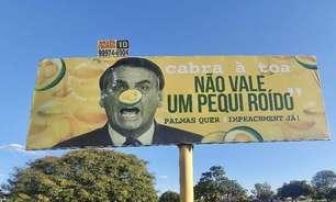 STJ tranca ação de placas comparando Bolsonaro a pequi roído