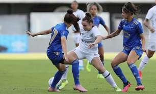 Cruzeiro derrota o Santos fora de casa e escapa do rebaixamento no Brasileiro Feminino Série A1