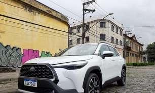 Toyota oferece assinatura para Corolla Cross e toda a linha
