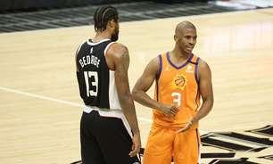 Clippers frustra volta de Chris Paul e bate Suns em casa