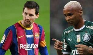 Deyverson parabeniza Messi de forma inusitada: 'Foi mal pela falta'
