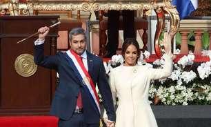 Família da primeira-dama do Paraguai estava em prédio nos EUA