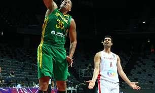 Seleção masculina de basquete abre Pré-Olímpico com vitória