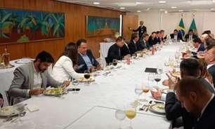 Bolsonaro se reúne com representantes de clubes das quatro divisões nacionais