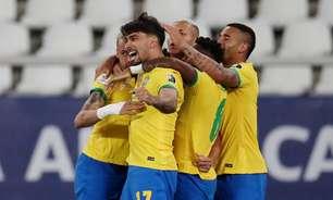 Jesus é expulso, mas Brasil bate o Chile e vai à semifinal