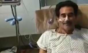 Luciano Szafir recebe alta após mais de um mês internado
