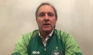 VP do Coritiba grava vídeo sobre aproveitamento da base