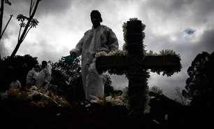 Brasil supera 100 mil casos diários de covid pela 2ª vez