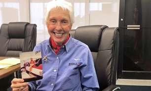 Wally Funk, a astronauta de 82 anos que vai ao espaço após 60 anos de espera