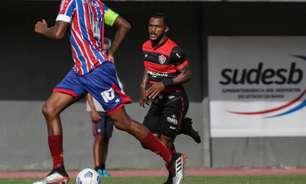 Crescendo no Vitória, Paulo Victor busca evolução e gols com o Leão da Barra em 2021
