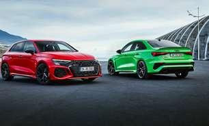 Audi RS3 estreia nova geração com motor 2.5 turbo de 400 cv
