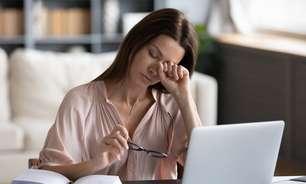 Saúde dos olhos; saiba como não prejudicar a visão no home office