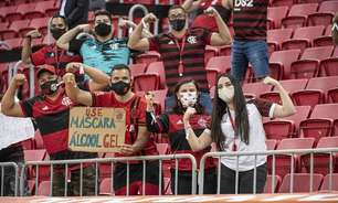 Flamengo agradece ao Governo Federal e comemora volta do público: 'Noite inesquecível para o futebol'