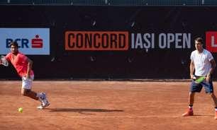 Orlando Luz e Meligeni alcançam a semi de duplas em Tampere