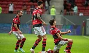 Flamengo goleia em Brasília e vai às quartas da Libertadores