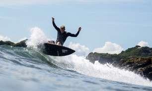 Tóquio prevê tufões, mas surfistas dizem: que venham