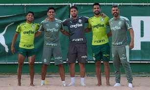 Escalação do Palmeiras: Sem Viña, Verdão encerra preparação para jogo contra Fluminense