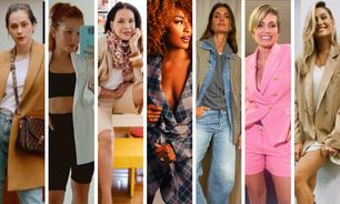Com cachecol, bermuda: inspire-se em 7 formas de usar blazer