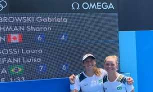 Dupla Stefani/Pigossi derruba favoritas em estreia no tênis