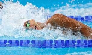 Felipe Lima bate recorde pessoal e avança às semifinais na natação