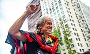 Flamengo presta homenagem em aniversário de Jorge Jesus: 'Parabéns, Mister'