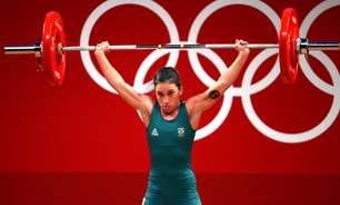 Natasha Rosa fica em 9º no levantamento de peso na Olimpíada