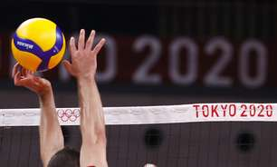 Brasil oscila, mas bate Tunísia por 3 a 0 no vôlei masculino