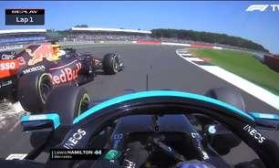 """Red Bull cita histórico recente de Verstappen e volta a culpar Hamilton: """"Foi o agressor"""""""