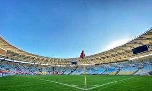 Flamengo prepara novo mosaico no Maracanã para jogo contra o São Paulo; confira