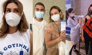 Imunizados! Confira a lista de famosos já vacinados contra a Covid-19