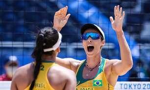 Ágatha e Duda superam susto no início e vencem argentinas em estreia nos Jogos Olímpicos de Tóquio