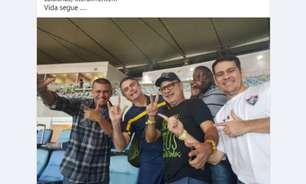 Queiroz posta foto com Bolsonaro e reclama de abandono