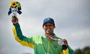 'É só o começo', diz Kelvin Hoefler após conquista da medalha de prata nos Jogos Olímpicos de Tóquio