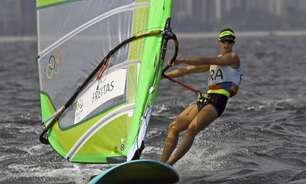 Patrícia Freitas fica em 13º na 1ª regata da RS:X nos Jogos