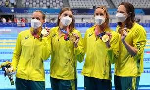 Austrália consegue terceiro ouro seguido e bate recorde