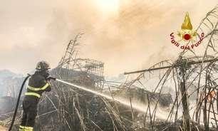 Itália pede ajuda de países europeus para combater incêndios na Sardenha