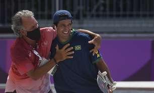 Medalhista de prata, Kelvin trocou o surfe pelo skate