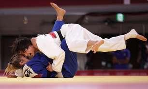 Larissa Pimenta perde para japonesa e está eliminada no judô