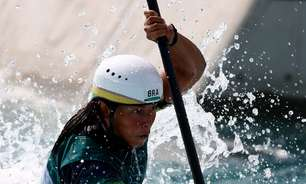 Ana Sátila avança à semi na canoagem slalom k1 da Olimpíada