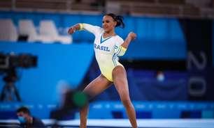 Em três finais nos Jogos Olímpicos de Tóquio, Rebeca Andrade vibra com 'decisões acertadas'