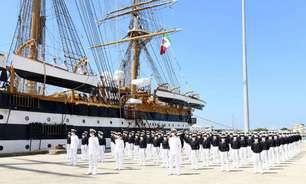 Marinha da Itália anuncia 20 casos de Covid no Amerigo Vespucci