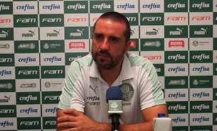 Auxiliar do Palmeiras despista sobre a estreia de Jorge: 'Vamos ver a condição física para depois falar'