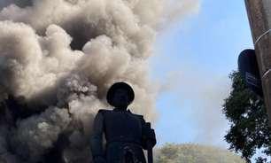 Polícia prende suspeito de pôr fogo em estátua do Borba Gato