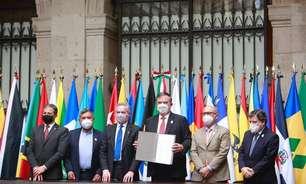 Países latinos firmam acordo para criar agência espacial