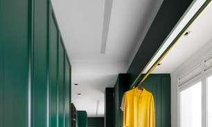 Cozinha Verde da Florense foi a Aposta dos Arquitetos para Fugir do Décor Tradicional