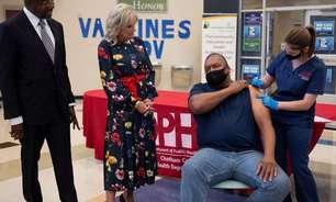 Casa Branca diz que taxas atuais de vacinação mostram tendência positiva
