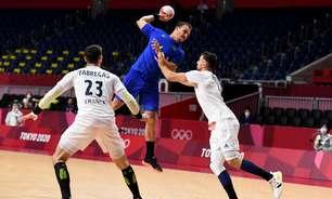 Brasil esbarra em defesa da França e perde a 2ª no handebol