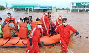 Chuvas na Índia matam mais de 250 pessoas em 3 dias