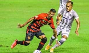 Em jogo bem morno, Sport e Ceará empatam pelo Brasileirão