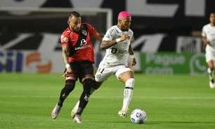 Marinho recebe amarelo e está fora do jogo contra a Chapecoense
